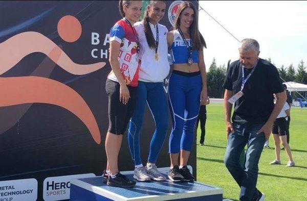 Ένα Παγκύπριο ρεκόρ και δυο πρώτες θέσεις η Κύπρος στο βαλκανικό Πρωτάθλημα Εφήβων – Νεανίδων