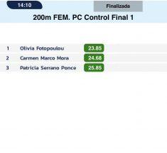 Παγκύπριο ρεκόρ στα 200μ. κλειστού η Ολίβια Φωτοπούλου
