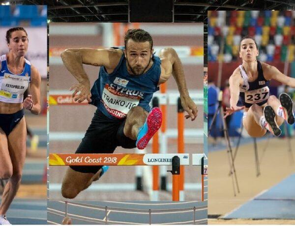 Με τρεις αθλητές η Κύπρος στο Ευρωπαϊκό Πρωτάθλημα Κλειστού Στίβου