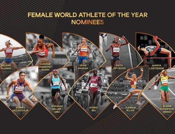 Οι 10 υποψήφιες Κορυφαίες Αθλήτριες στο 2021